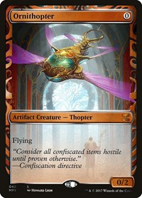 Ornithopter, Magic: The Gathering, Masterpiece Series: Kaladesh Inventions