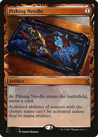 Pithing Needle, Magic: The Gathering, Masterpiece Series: Kaladesh Inventions