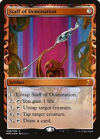 Staff of Domination, Magic: The Gathering, Masterpiece Series: Kaladesh Inventions