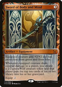 Sword of Body and Mind, Magic, Masterpiece Series: Kaladesh Inventions