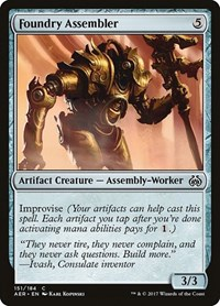 Foundry Assembler, Magic: The Gathering, Aether Revolt