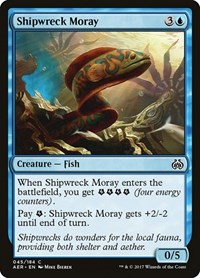 Shipwreck Moray, Magic: The Gathering, Aether Revolt