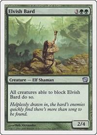 Elvish Bard, Magic: The Gathering, 9th Edition
