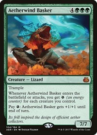 Aetherwind Basker, Magic: The Gathering, Aether Revolt