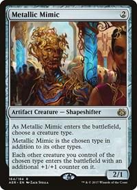 Metallic Mimic, Magic: The Gathering, Aether Revolt
