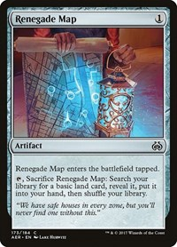 Renegade Map, Magic: The Gathering, Aether Revolt