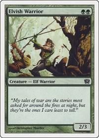 Elvish Warrior, Magic: The Gathering, 9th Edition