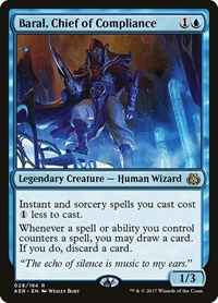 Baral, Chief of Compliance, Magic, Aether Revolt