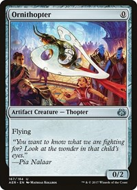 Ornithopter, Magic: The Gathering, Aether Revolt