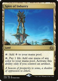 Spire of Industry, Magic, Aether Revolt