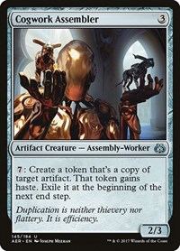 Cogwork Assembler, Magic: The Gathering, Aether Revolt