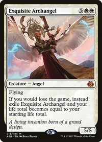 Exquisite Archangel, Magic: The Gathering, Aether Revolt