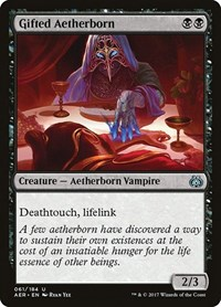Gifted Aetherborn, Magic: The Gathering, Aether Revolt