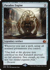 Paradox Engine, Magic, Aether Revolt