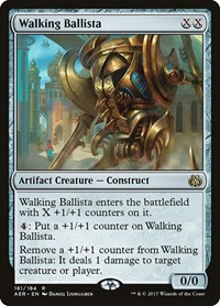 Walking Ballista, Magic: The Gathering, Aether Revolt