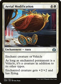 Aerial Modification, Magic: The Gathering, Aether Revolt