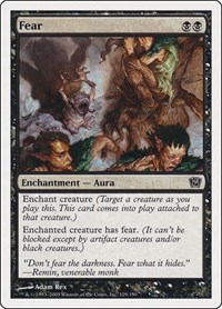Fear, Magic: The Gathering, 9th Edition