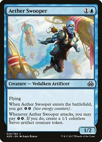 Aether Swooper, Magic: The Gathering, Aether Revolt