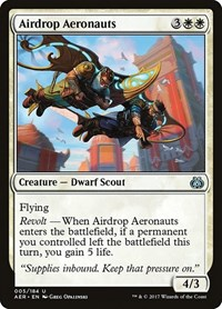 Airdrop Aeronauts, Magic: The Gathering, Aether Revolt