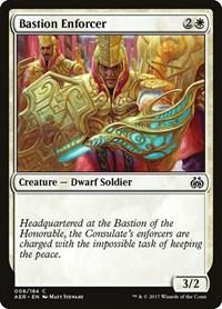 Bastion Enforcer, Magic: The Gathering, Aether Revolt