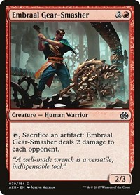 Embraal Gear-Smasher, Magic, Aether Revolt