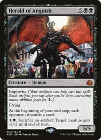 Herald of Anguish, Magic: The Gathering, Aether Revolt