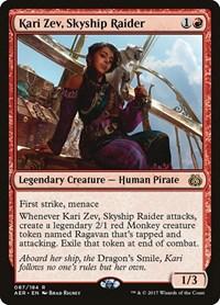 Kari Zev, Skyship Raider, Magic, Aether Revolt