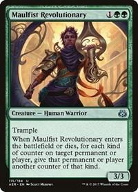 Maulfist Revolutionary, Magic: The Gathering, Aether Revolt