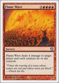 Flame Wave, Magic: The Gathering, 9th Edition