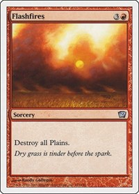 Flashfires, Magic: The Gathering, 9th Edition