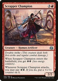 Scrapper Champion, Magic: The Gathering, Aether Revolt