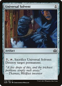Universal Solvent, Magic, Aether Revolt