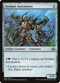 Verdant Automaton, Magic, Aether Revolt