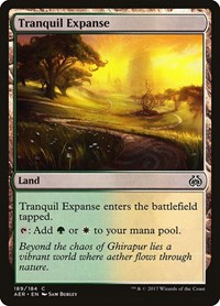 Tranquil Expanse, Magic: The Gathering, Aether Revolt