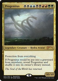 Progenitus, Magic, Grand Prix Promos