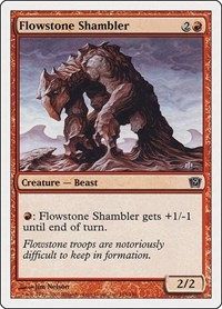 Flowstone Shambler, Magic: The Gathering, 9th Edition