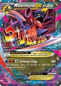 M Garchomp EX - XY168, Pokemon, XY Promos