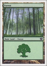 Forest (350), Magic, 9th Edition