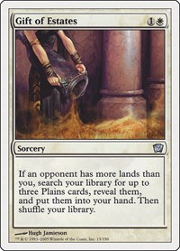 Gift of Estates, Magic: The Gathering, 9th Edition