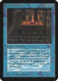 Steal Artifact, Magic: The Gathering, Alpha Edition