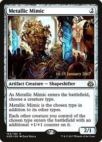 Metallic Mimic, Magic: The Gathering, Prerelease Cards