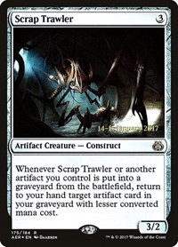 Scrap Trawler, Magic: The Gathering, Prerelease Cards
