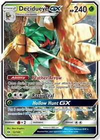 Decidueye GX, Pokemon, SM Base Set
