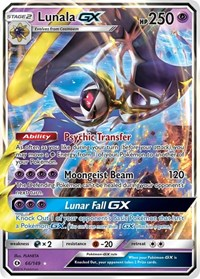 Lunala GX, Pokemon, SM Base Set