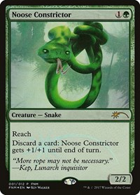 Noose Constrictor, Magic: The Gathering, FNM Promos