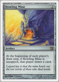 Howling Mine, Magic: The Gathering, 9th Edition