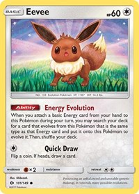 Eevee, Pokemon, SM Base Set