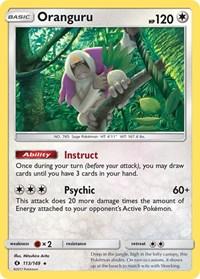 Oranguru, Pokemon, SM Base Set