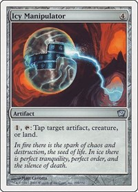 Icy Manipulator, Magic: The Gathering, 9th Edition