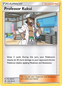 Professor Kukui, Pokemon, SM Base Set
